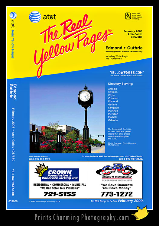 YPpics-784893 We're *on* the Yellow Pages =) Commercial